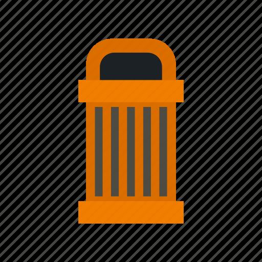 Bin, can, garbage, rubbish, steel, street, trash icon - Download on Iconfinder