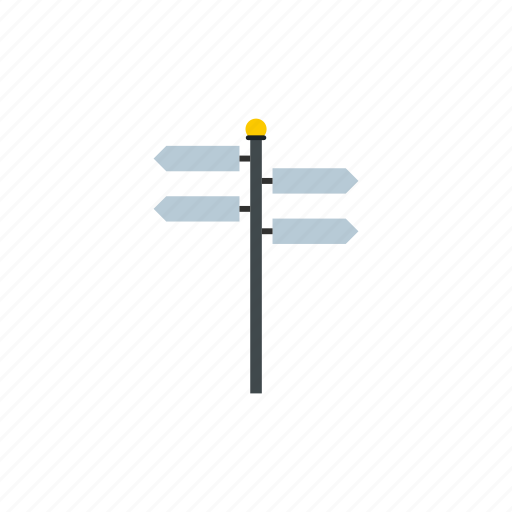 arrow, choice, direction, pointer, right, road, street icon