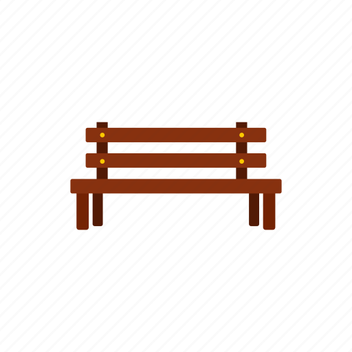 bench, outdoor, park, rest, seat, wood, wooden icon