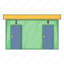 illustration, object, toilet, wc icon