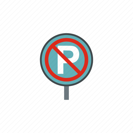 forbidden, no, parking, prohibition, restriction, road, warning icon