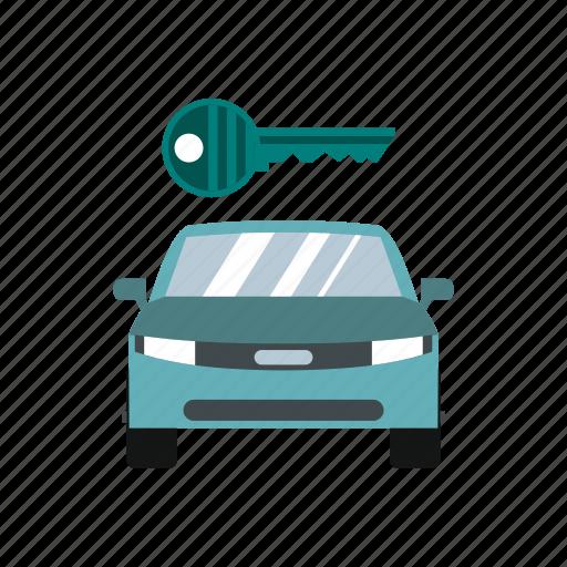 auto, automobile, business, buy, car, key, transportation icon