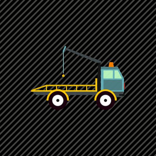 auto, car, emergency, tow, traffic, transportation, truck icon