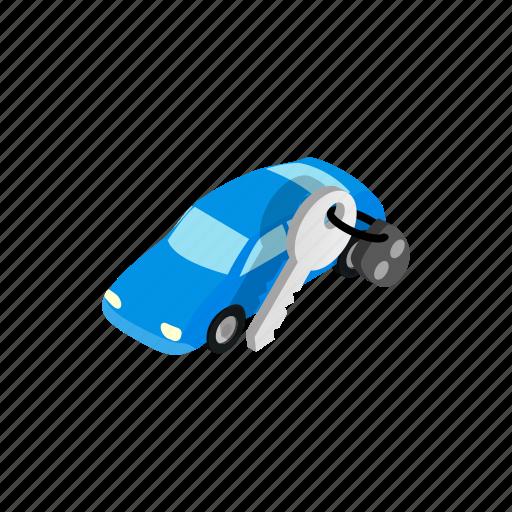 car, city, empty, evacuated, garage, isometric, vehicle icon