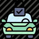parking, vehicle, lock, safety, car, security, transportation
