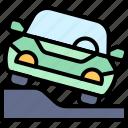 parking, vehicle, traffic, pavement, park, car