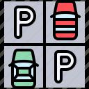 parking, vehicle, traffic, parking lot, car, park