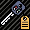 parking, vehicle, traffic, car, key, automobile