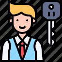 parking, vehicle, traffic, valet, avatar, key, car