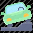 parking, vehicle, traffic, slope, pavement, car, park