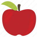 apple, breakfast, food, fruit, healthy, kitchen, sweet icon