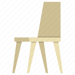 chair, furniture, home, house, interior, office, seat icon