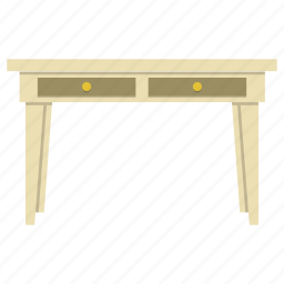 desk, furniture, home, interior, lamp, office, table icon