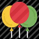 balloon, celebration, party, birthday, decoration, fly, air