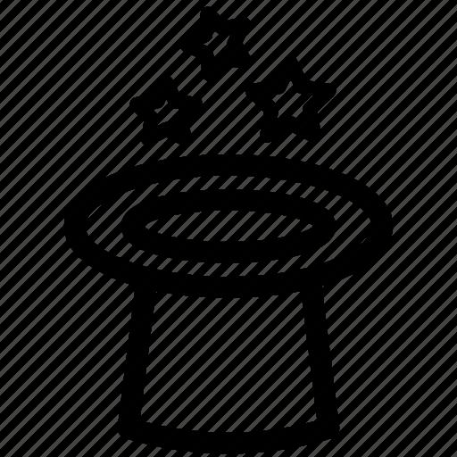 hat, magic, wizard, wizard hat icon
