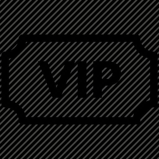 party invitation, vip, vip ticket icon