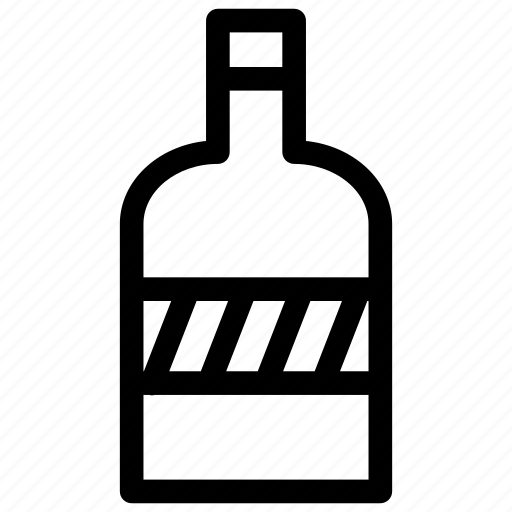 bottle, drink, vodka, wine, wine bottle icon