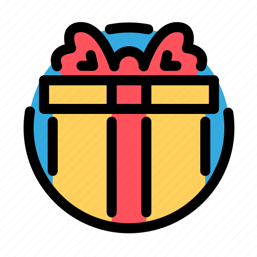 birthday, decoration, gift, party icon