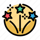 birthday, decoration, party icon