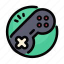 birthday, console, decoration, game, party icon