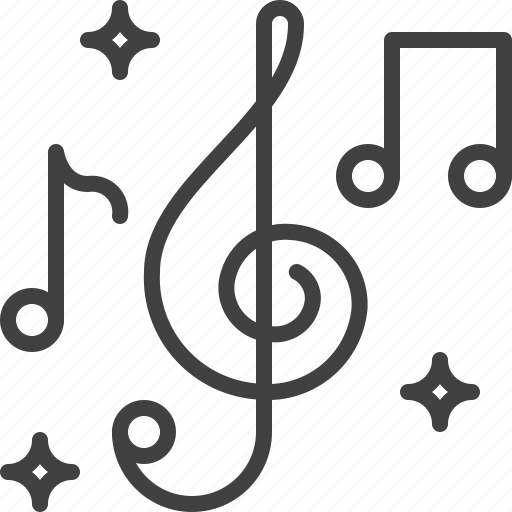 Clef, music, notes, treble icon - Download on Iconfinder
