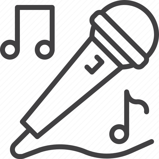 Karaoke, microphone, singer, singing icon - Download on Iconfinder