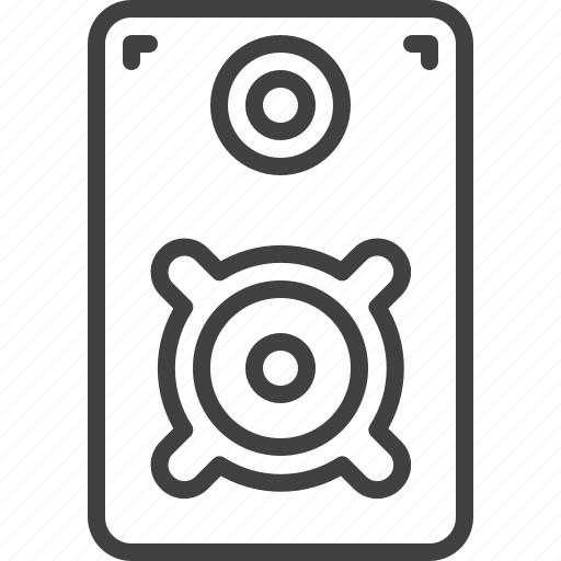 Loud, loudspeaker, speaker, stereo icon - Download on Iconfinder