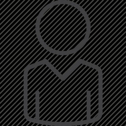 Person, account, user icon