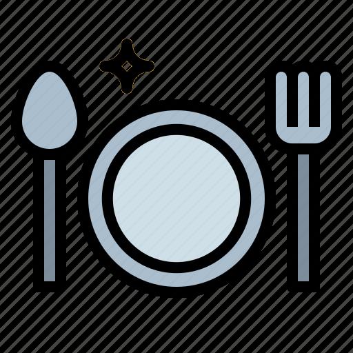 breakfast, dinner, dish, restaurant icon