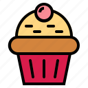 bakery, cake, cupcake icon