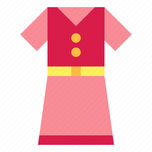 clothes, dress icon