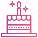 bakery, birthday cake, cake icon