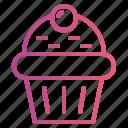 bakery, cake, cupcake, dessert icon