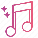 music, music player, musical, note, song icon