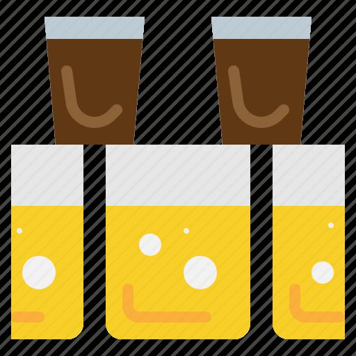 Shot, drink, beer, mix, mug, beverage icon