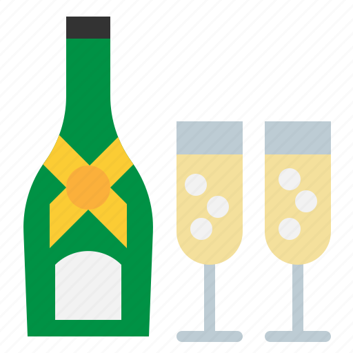 Beverage, champagne, drink, glass, party icon - Download on Iconfinder