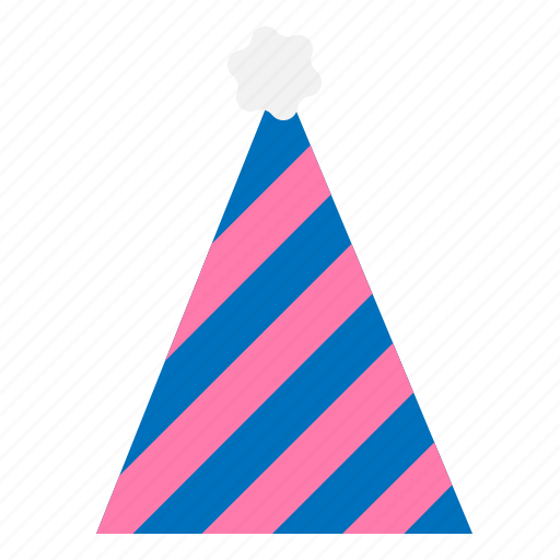 celebration, christmas, hat, merry, party, winter icon