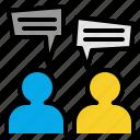 chat, communication, message, talk