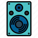 music, sound, speaker, streamline icon