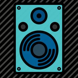 music, sound, speaker, streamline icon