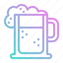 alcohol, beer, drink, drinks, jar, mug, pub icon