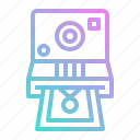 camera, digital, photo, photograph, picture, polaroid icon