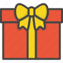 birthday, colored, gift, holidays, party, present icon