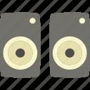 birthday, box, holidays, party, sound icon