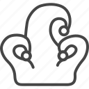 birthday, hat, holidays, jester, line, outline, party icon