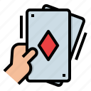 card, casino, game, play, poker