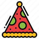 cone, hat, holiday, party icon