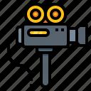 camera, cinema, media, movie, video icon