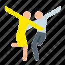 celebration, choreography, dance, party icon