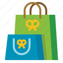 bag, gift, shop, shopping